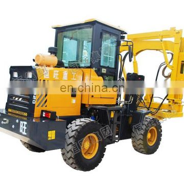 Hengwang hydraulic pile driver machine for wells in malaysia