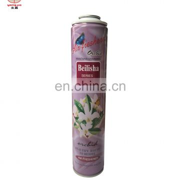 High-quality empty earosol spray mental tin cans with spray paint