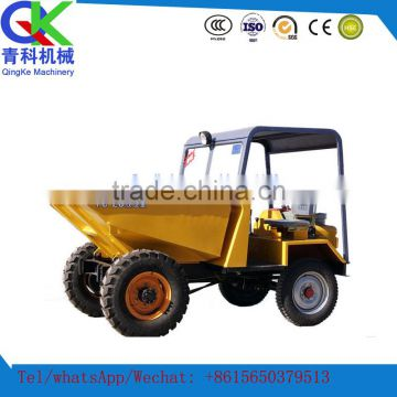 High power low fuel consumption 15kw mini tip lorry front loader