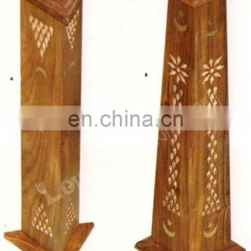 TOWER WOODEN INCENSE HOLDER BOX