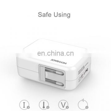 Portable 5V/4.2A 4-USB Port Smart Quick Charge Travel Charger for Smartphones