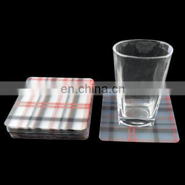 pp plastic coasters with coasters