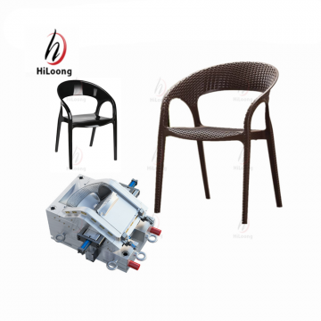 injection mould plastic chair 3d mould drawing