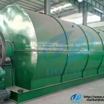 Waste plastic pyrolysis plant to fuel oil
