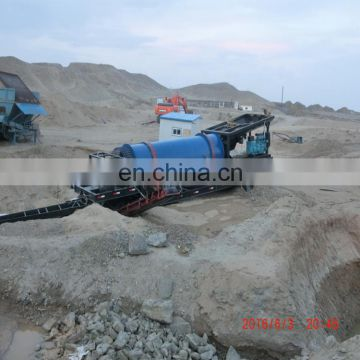 High Quality Automatic China low price small scale mining equipment gold washing machine 	gold trommel