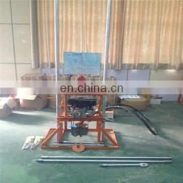 small one man water drilling rigs /foldable water well drilling rig price