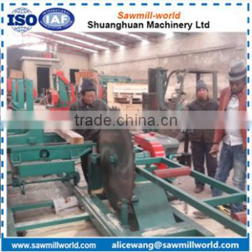 Hot selling Sawmill-world hard wood timber circular sawing blade sawmill machine