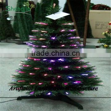 SJZJN 1529 Red Colour Fantastic Pine /Neddle Christmas Tree for Sale