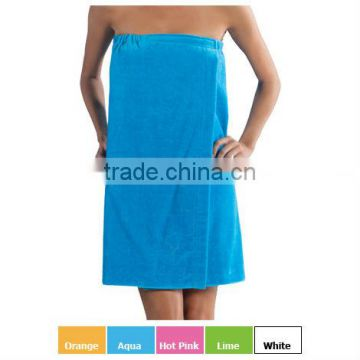 Luxury microfiber spa wrap