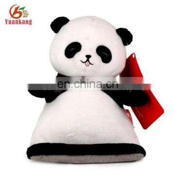 Hot Selling Custom Plush Panda Creative Phone Holder Hand Made Mobile Car Phone Holder