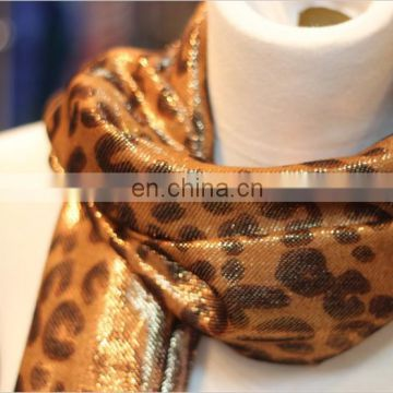 lady fashion lurex wool scarf