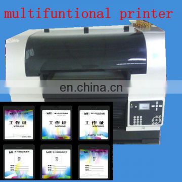 logo printed on pvc card machine