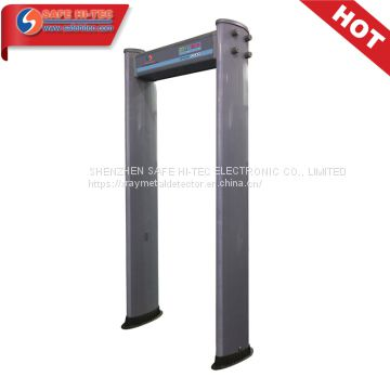 IP55 Cylinder Plastic Walk Through Door Frame Archway Metal Detector SA300E