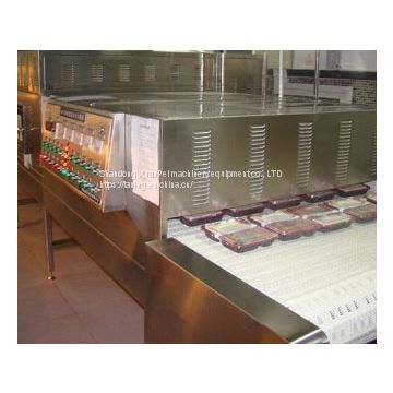 Microwave biological fertilizer drying sterilization equipment