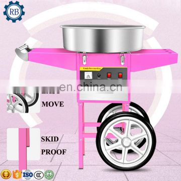 High Efficiency Electric Fancy cotton candy machine Marshmallow machine with best service