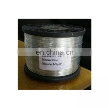 0.19mm Galvanized Steel Spool Wire Of Cleaning Ball Wire