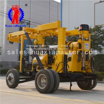 Towed 600 meters deep-water well drilling rig large agricultural drilling rig for irrigation Wells