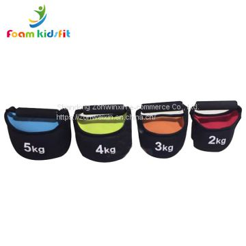 Fitness equipment   weight lifting soft sandbag kettlebell for kids