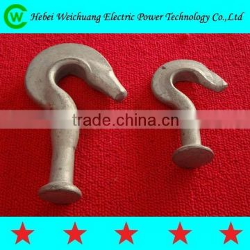 Cable Power Fitting Good Quality Wide Varieties Pig Tail Hook /Ball Hook Galvanized Stainless Steel Material