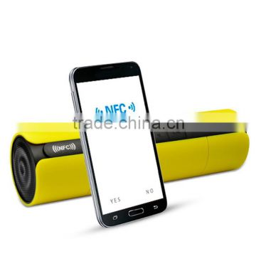 New NFC FM HIFI bluetooth speaker wireless stereo portable loudspeakers bluetooth boombox super bass box system
