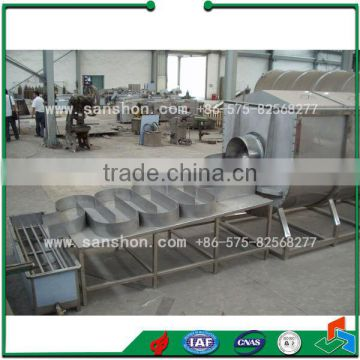 SPT Spiral Fruit and Vegetable Blanching Machine