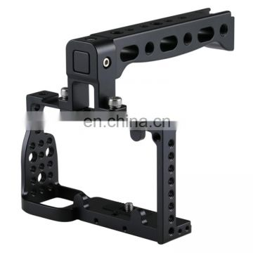 PULUZ Camera Cage Handle Stabilizer for Sony A6300 / A6000 for 3 axis gimbal