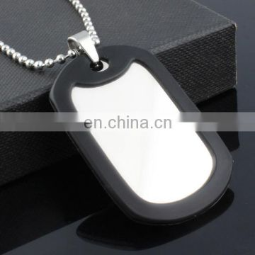 aluminum metal blank pet id tags