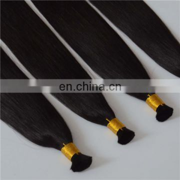 Factory wholesale quality virgin hair bulk juancheng human hair