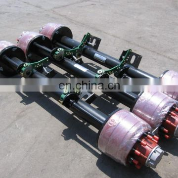 Low Bed Semi-Trailer English Type Axle