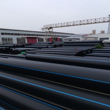 Hdpe Pipe Pn16 Polyethylene Plastic Pipe Industrial Raw Material Convey