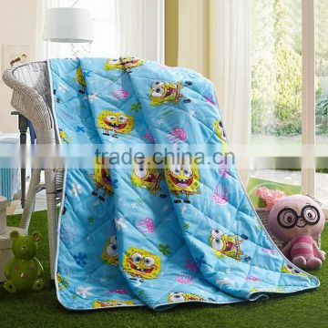 New design Soft Cotton printed washable handmade summer silk quilts made in china wholesale christmas