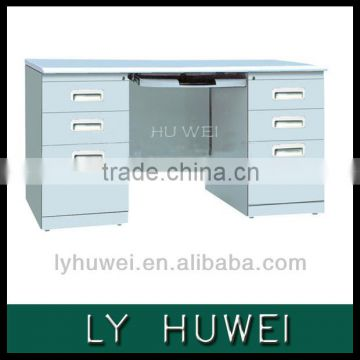Office furniture steel computer table models with prices in China
