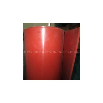 Red NR Rubber Sheet