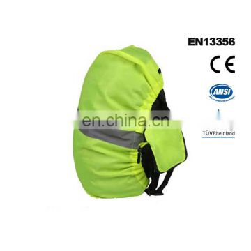 100% Polyester Elastic Band Reflective Safety Backpack