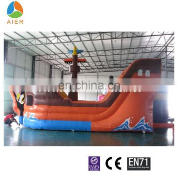 New Pirate Ship Combo, Inflatable Pirate Funland, Outdoor Play Equipment For Sale