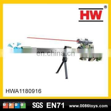 New design battery operated plastic water bullet gun