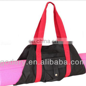 Wholesale cheap yoga mat bag for yoga fans