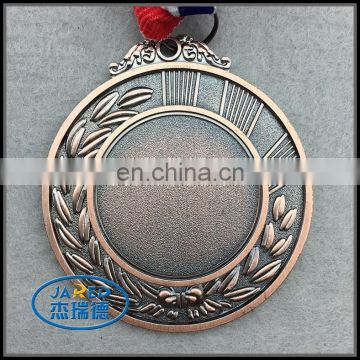 Cheap Zinc Die Cast Medal With Ribbon