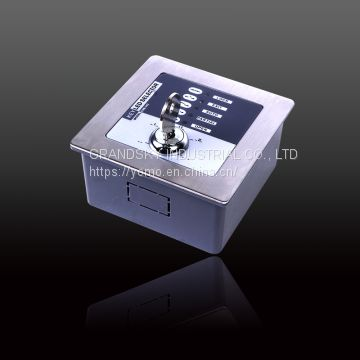 CNB-242 Five-range LED key switch