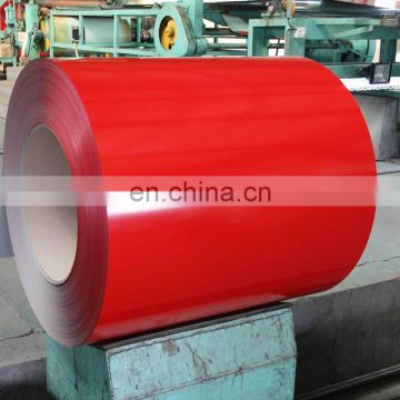 prepainted coated galvanized metal roofing steel coils ppgi from shandong manufacturer