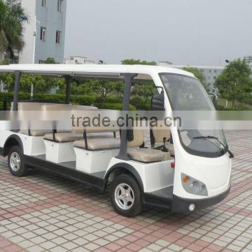 Beautiful style electrical recreational vehicles sightseeing bus