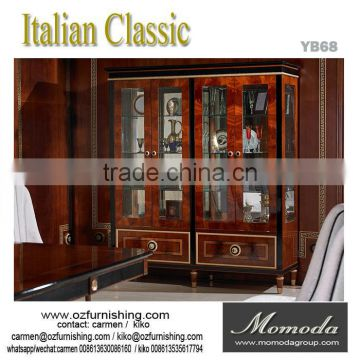 Yb68 Antique Wine Cabinet Display Cabinets Luxury Living Room 4