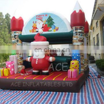 Christmas festival theme hot sale commercial inflatable,customized with best quality,changeable colors and themes