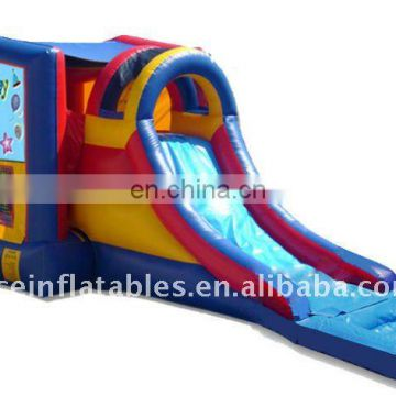 inflatable water slide and bouncer combo