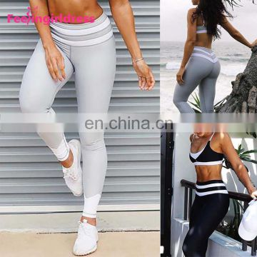 New Women Fashion Workout Leggings Fitness Sports Gym Running Yoga Pants Custom