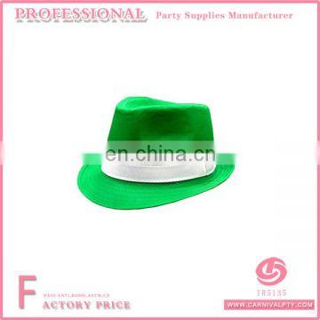 Irish St. Patrick s Day Fedora Hat Green Top Hat Fancy Dress Party ... 3769b68e0fd0