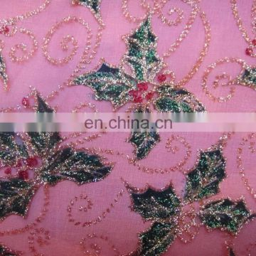 wholesale fabric China High quality Wholesale Print organza