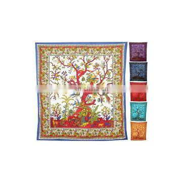 QUEEN size Indian Tree of life Tapestry Hippie Wall Hanging Bedspread Bohemian Decor picnic Blanket Tree Tapestries wall decor