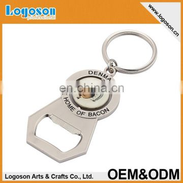 Promotional tourist souvenir bottle opener keychain