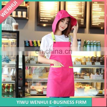 New Arrival good quality shop apron pattern 2016